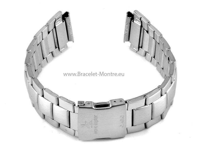 bracelet de montre casio pour wv 58de acier inoxydable. Black Bedroom Furniture Sets. Home Design Ideas