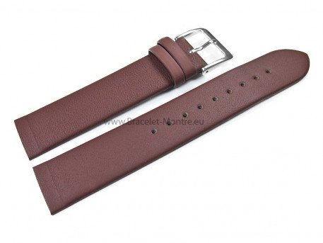 Bracelet montre adaptable à 358XSGLD, cuir, marron
