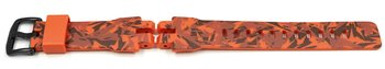 Casio bracelet montre camouflage orange PRG-300CM...